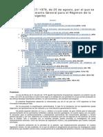 Real Decreto 2857-1978 RGRM _versión Vigente en Febrero de 2014