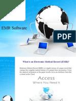 Benefits of EMR Software