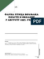 Fauna Ptica Vocnjaka - Pocuta