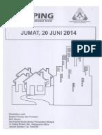 Scan Berita Kliping Perumahan Rakyat, 20 Juni 2014