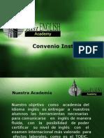 Convenio Institucional Empresa