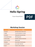Introduction to iSpring