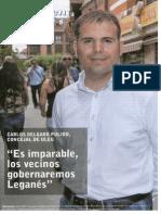 Periódico Cien x Cien Leganés - Junio 2014