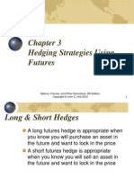 Chapter 03 Hull Hedging Strategies Using  Futures