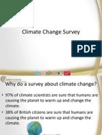 climate change survey