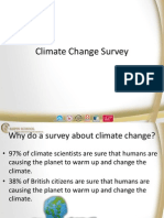 climate change survey