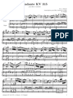 Mozart - Andante Per Fl, Oboe e Prgano Kv.315