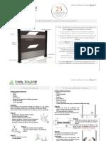 Guide Installation Claustra Composite BLklo