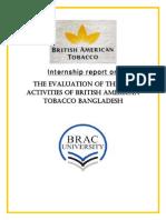 Intern Report on CSR activities of BATB