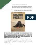 A armadilha do progresso humano e o colapso do desenvolvimento