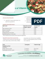 Factsheet Food Sources of Vitamin B6