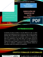 Equipos Formales e Informales