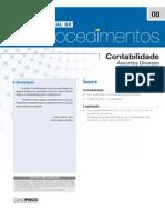 Manual de Procedimentos - Cenofisco Nº 08 (Contabilização de Doações e Ativo Imob)