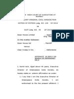Greenpeace affidavit