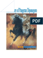 Untotd Story of Pangeran Diponegoro (Sebuah Novel)