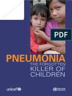 Pneumonia the Forgotten Killer of Children