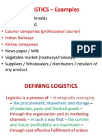 Chapter 1 Introduction to Logistics