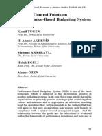 08 BUDGET Performance Based Budgeting