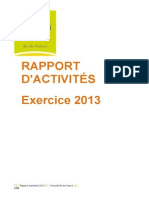 Rapport Act 13