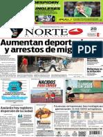Periódico Norte edición del día viernes 20 de junio de 2014