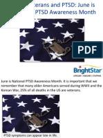Elderly Veterans and PTSD