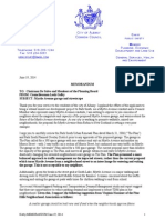 Golby Memo to Planning Board June 2014