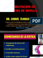 Rehabilitacion en Fracturas de Rotula