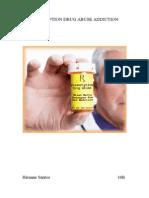 Prescription Drug Abuse Addiction