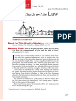 2nd Quarter 2014 Lesson 12 Christ's Church and the Law Teachers' Edition