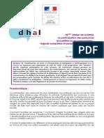 32eme Atelier de La Dihal - 2 Juilet Pré-programme