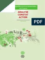 Les inégalités environnementales en France - Analyse Constat Action