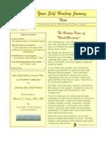 Newsletter 11-23-09