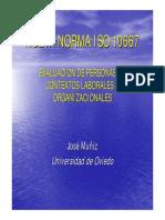 ISO 10667 Evaluación de Personas en Contextos Laborales y Organizacionales
