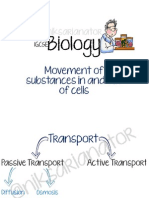 IGCSE Biology - Movement of Substances in and Out of Cells