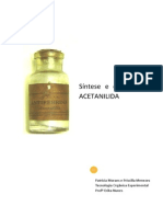 Relatório Acetanilida_Patricia e Priscilla