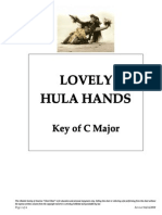 Lovely Hula Hands Key of C
