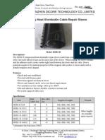 Reinforcing Heat Shrinkable Cable Repair Sleeve