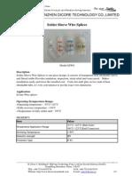 Solder Sleeve Wire Splices