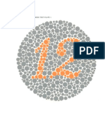 Ishihara Chart Pdf