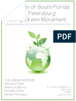 The Green Writers- White Paper
