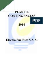 Plan de Contingencias 2014