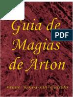 Tormenta RPG - Guia de Magias Arton