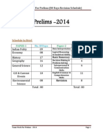 Team Work for Prelims - Revision Schedule (1)