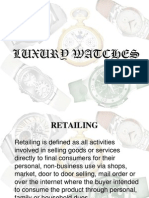Luxury Watches market in India