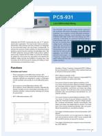 PCS-931