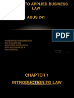 Chapter 1-Applied Business Law