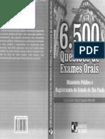 6500 Questões de Exames Orais