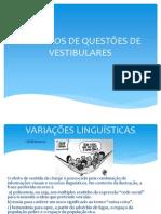 Exemplos de Questões de Vestibulares