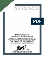 propuestas periodo 20142016