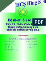 PT da thuc thanh nhan tu ( nhieu PP ) 8